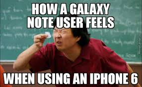 Galaxy Note Meme - samsung galaxy note giant iphone 6 elf by sunlaser meme center