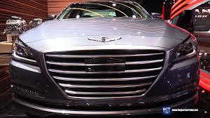 hyundai canada genesis 2017 genesis g80 3 8 sedan exterior and interior walkaround