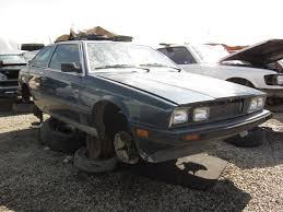 old maserati biturbo junkyard find 1984 maserati biturbo the truth about cars