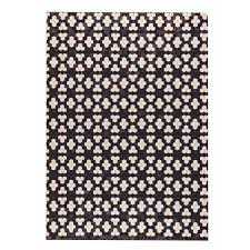 trading pattern shipping m a trading hand made star black white 5 x8 india free