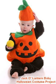Baby Pumpkin Costume Directions For Making Jack O U0027 Lantern Halloween Costume For Babies