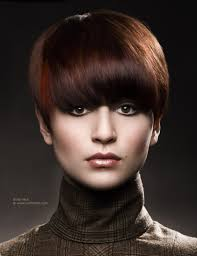 gamine hairstyles for mature women gamine 60s haircut for short hair with a rounded shape