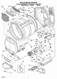whirlpool gew9250pw1 parts list and diagram ereplacementparts com