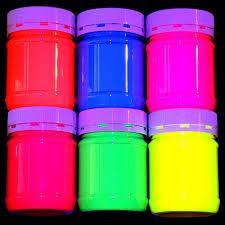 glow paint uv glow paint six for five deal