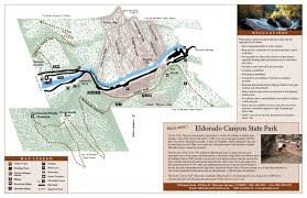 Castlewood State Park Trail Map Eldorado Canyon State Park Outthere Colorado