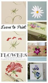 best 10 paint flowers ideas on pinterest painting flowers