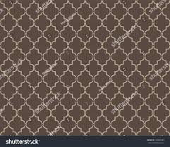 seamless moroccan trellis pattern stock vector 103800386