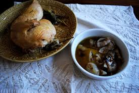 step by step thanksgiving dinner mushroom gravy with herb buttered chicken yin and yolk