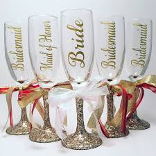 wedding champagne glasses bachelorette party idea bachelorette