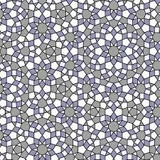 quasi periodic pattern definition checkerboard coloring of quasiperiodic tilings geometry in color