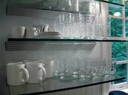 glass shelves for kitchen cabinets glass shelves for kitchen floating glass shelves floating glass