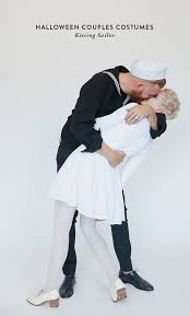 Halloween Costumes Kiss Halloween Couples Costume Kissing Sailor Yessay