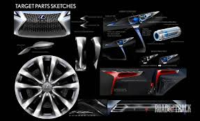 lexus lf lc tail lights photos lexus lf lc concept sketches sketches