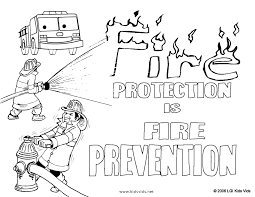 fire safety coloring pages print coloring pages kids collection