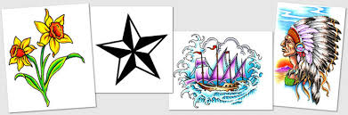 tattoo designs u0026 symbols nautical star numbers native american
