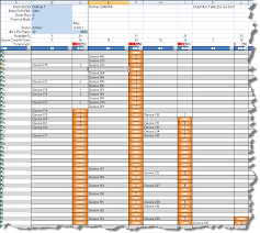 Data Center Inventory Spreadsheet by Excel Automation Rack Elevations