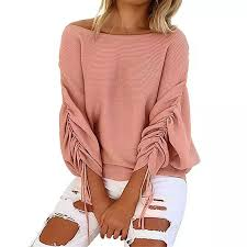 knitted sweater deal 2017 autumn and winter ruffle knitted sweater