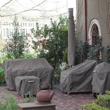 Extra Large Garden Furniture Covers - classic accessories ravenna patio umbrella storage cover taupe