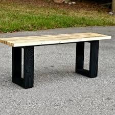 Outdoor Modern Bench Modern Benches Contemporary Benches Custommade Com