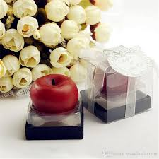 candle favors wedding candle favors mini apple of my eye apple shape candle baby
