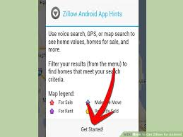 zillow app for android how to get zillow for android 6 steps with pictures