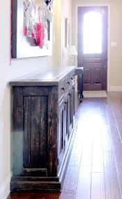 furniture cozy dark wood tile flooring with antique dark buffet