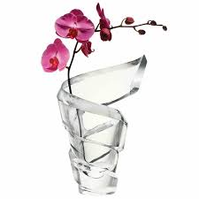 spirale vases by baccarat a stand alone piece or artistically