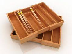 Lipper International Bamboo Kitchen Drawer Dividers by Image Of Lipper International Bamboo Expandable Organizer Tray