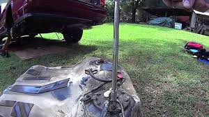 1991 Honda Accord Lx Coupe Honda Accord Fuel Pump And Fuel Tank Removal Youtube