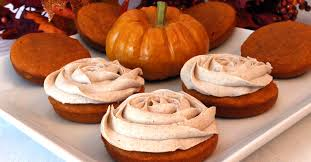 cupcake tops pumpkin mini cakes two