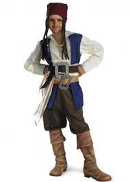 Davy Jones Halloween Costume Pirates Caribbean Costumes Movie Pirates