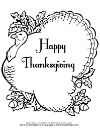thanksgiving coloring sheets for coloring home