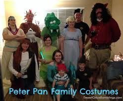 Peter Pan And Wendy Halloween Costumes by Peter Pan And The Neverland Crew Halloween 2012