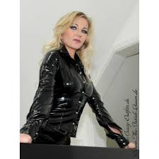 leather blouse vinyl blouse ds 328v webshop for leather