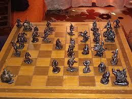ancient chess chess pieces and chess sets ancient greek theme miniaturesandstuff