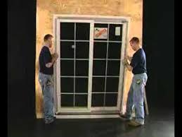 Installing Patio Door Patio Door Installation