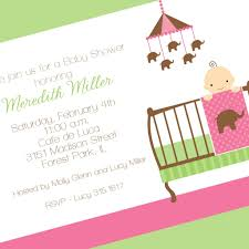 cool baby shower invitation wording elephant theme on baby shower