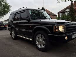 lifted land rover sport land rover discovery 2 xs face lift td5 mot dec black had loads