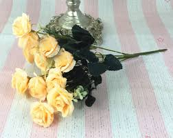 artificial silk 12 flower head floral wedding garden