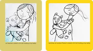 children drawings pencil sketch kids crayon art kenfortes