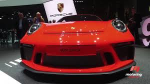 geneva motor show manual for porsche 911 gt3 motoring com au