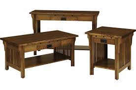 Mission Sofa Table by Amish Furniture Hand Crafted Solid Wood Occasionaltables