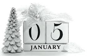 amazing wooden block calendar vintage retro save the date white