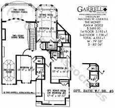 luxury home plans with elevators monet house plan estate size house plans