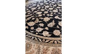 Black Round Rug Viyet Designer Furniture Rugs Karastan Round Black Persian