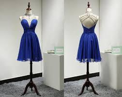 royal blue homecoming dress short prom dresses chiffon homecoming