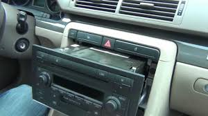 audi a4 2004 radio audi a4 2002 2005 install of iphone ipod and aux adapter for