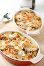 baked seafood pasta omnivore u0027s cookbook