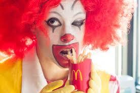 Ronald Mcdonald Halloween Costume Original
