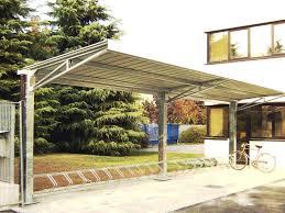 tettoia autoportante tettoie in ferro metalsystem carpenteria metallica